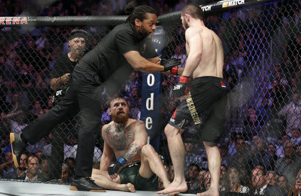 Nurmagomedov võimalikust kohtumisest McGregoriga: pean võitma tõelisi konkurente, mitte pettureid