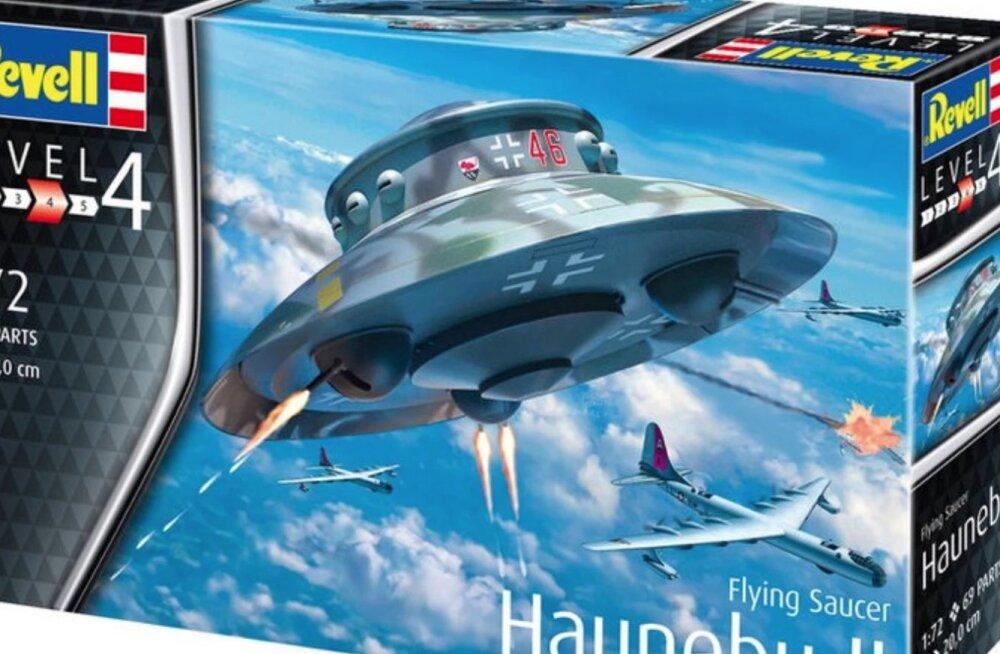 Natsi-UFO mudel korjati ajalooliste ebatäpsuste pärast müügilt