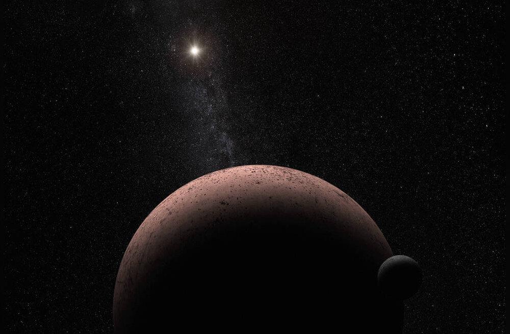 Ka Pluuto-tagune kääbusplaneet Makemake sai kirja oma isikliku kuu