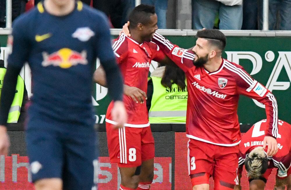 Bundesliga üllatusliider pidi vastu võtma esimese kaotuse