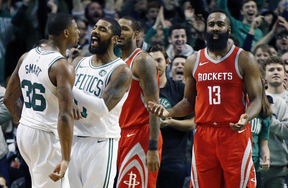 VIDEO | Rockets andis Celticsi vastu käest 26-punktilise eduseisu. Viimati libastuti nii julmalt 20 aastat tagasi!