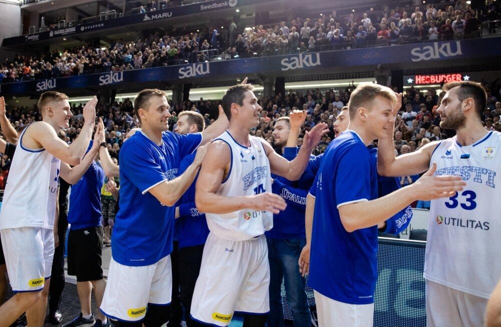 Eesti korvpallikoondis alistas MM-valiksarjas Serbia