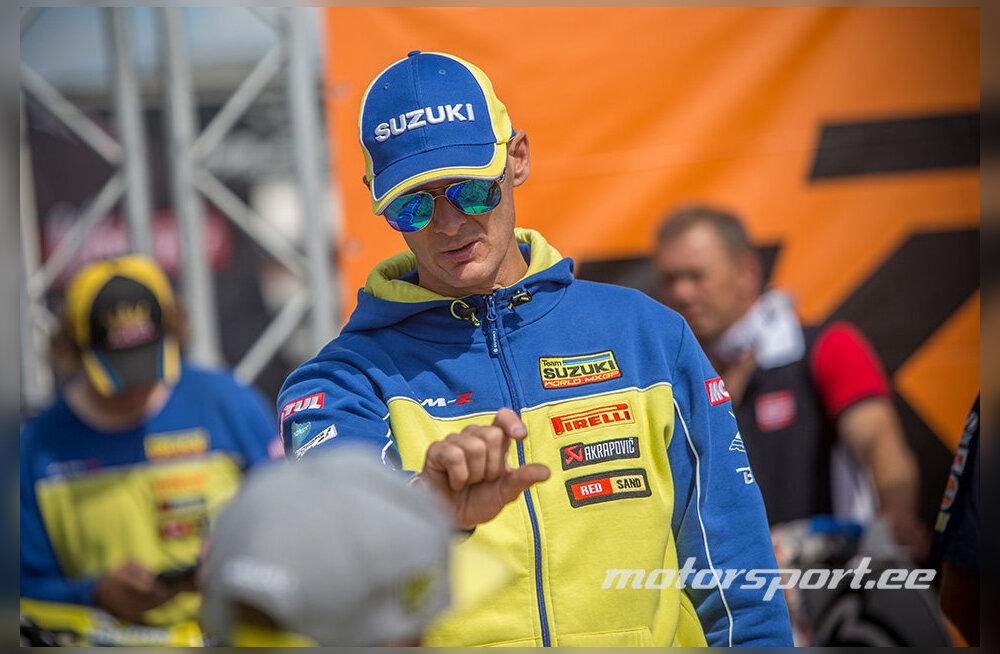 Kümnekordne motokrossi maailmameister tuleb laupäeval Eesti noori õpetama