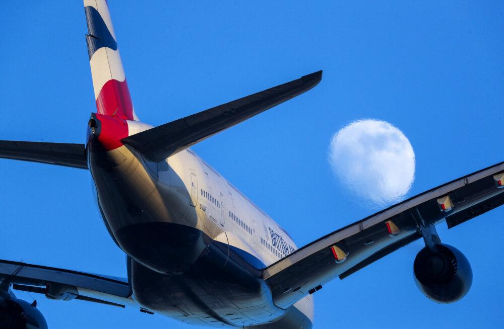 ВИДЕО | Самолет долетел из Нью-Йорка в Лондон на 1,5 часа быстрее из-за урагана. Но посадки были жесткими