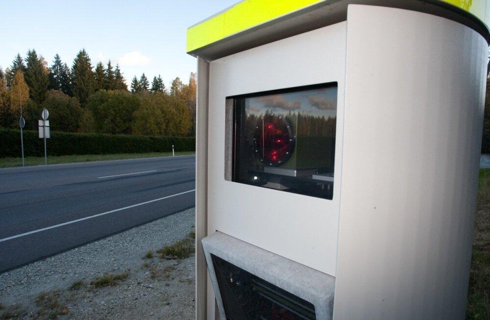 Soome politsei hakkab saatma eestlastele teateid kiiruskaameratele vahelejäämise kohta