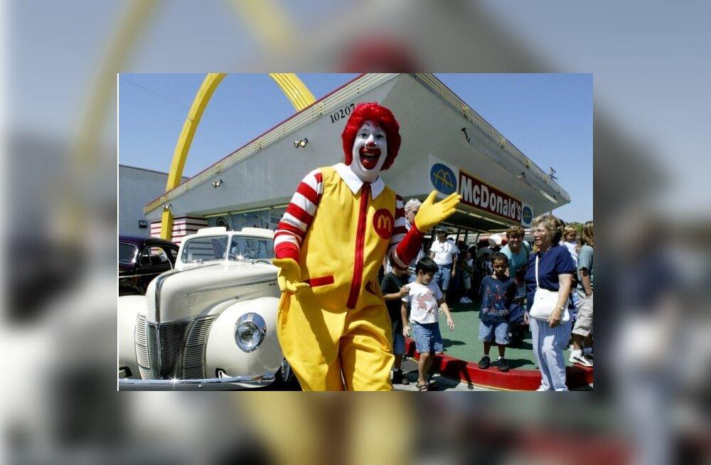 """Suur ja väike Peeter ehk kuidas USA McDonald's töötajate palku """"suurendab"""""""