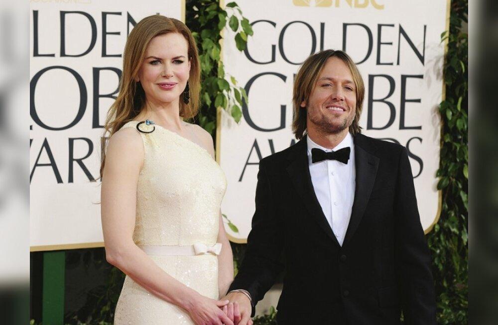 Nicole Kidmani ja Keith Urbani perre sündis tütar