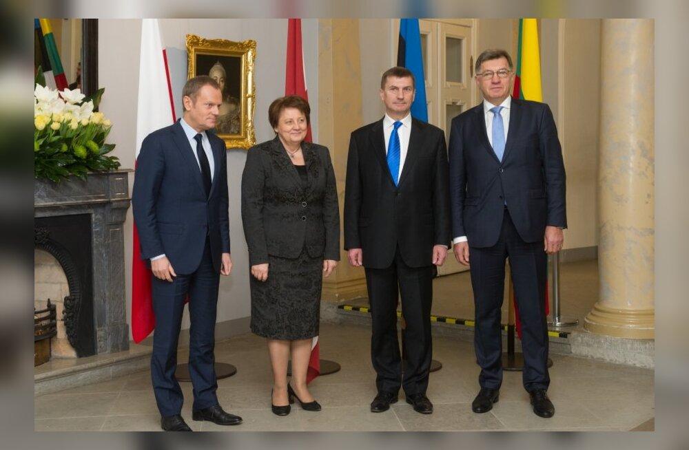 Balti ja Poola peaministrite kohtumine Tallinnas