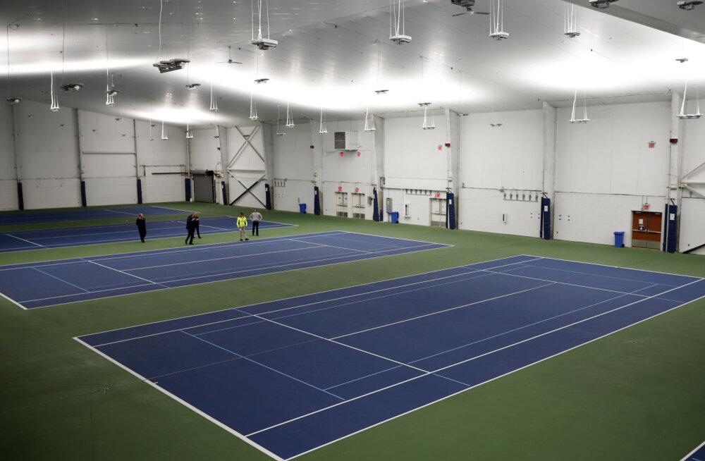 US Openi tenniseturniiri valdustest lahkus viimane koroonapatsient