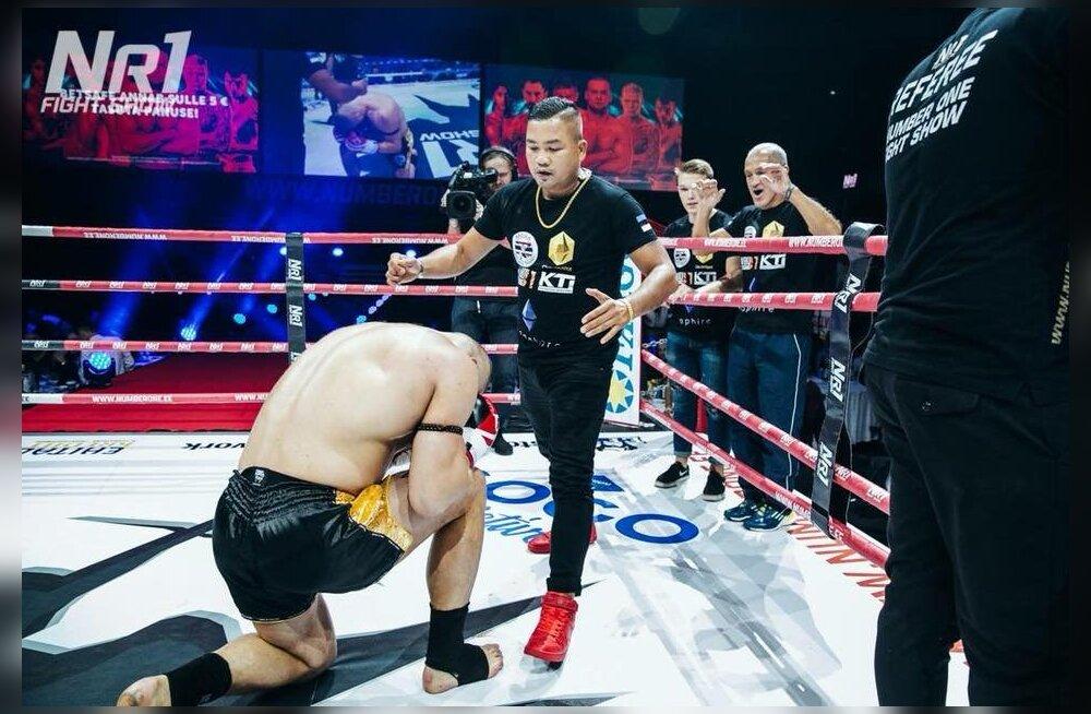 Uku Jürjendal võitleb WBC Muay Thai tiitlile
