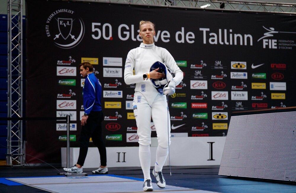 Tallinna Mõõk Katrina Lehis vs Ana Maria Popescu