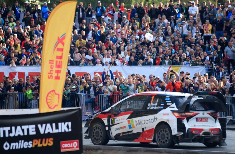 Rahvarohked linnas sõidetavad kiiruskatsed seekord Rally Estonia kavas pole.