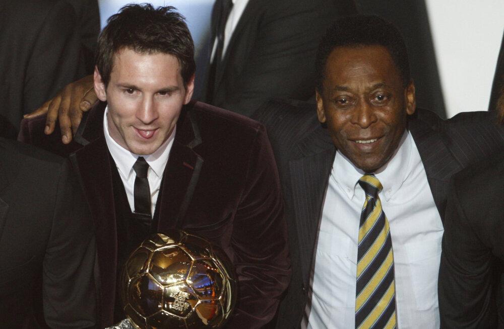 Pele ootamatu kriitika: Messi ei ole isegi jalgpalliajaloo viie parema mängija seas!