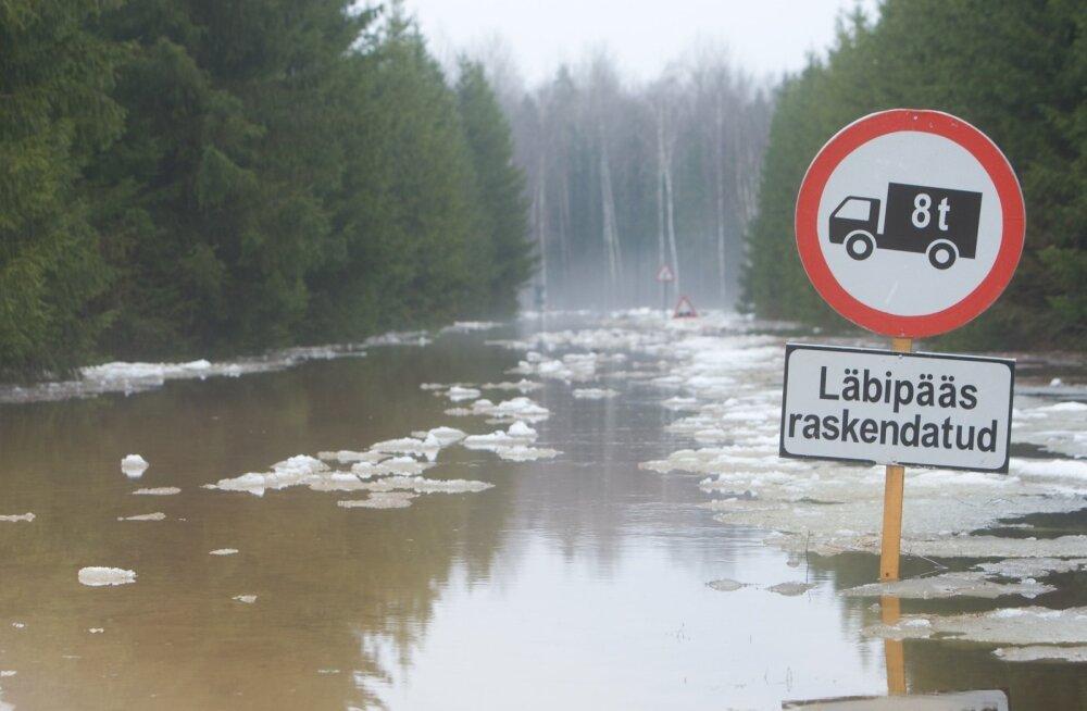 Soomaal suleti Kildu-Oksa-Tõrenurme tee