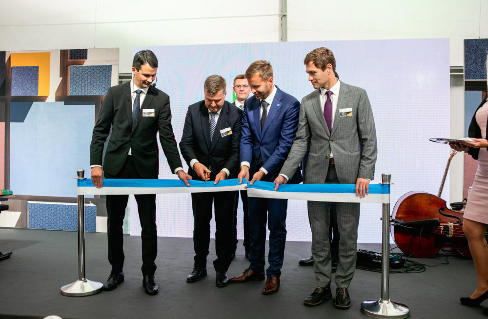 В Пярну открылся новый завод Metsä Wood по производству фанеры из березы