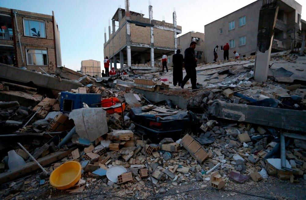 FOTOD | Ränk maavärin tappis Iraanis ja Iraagis vähemalt 348 inimest