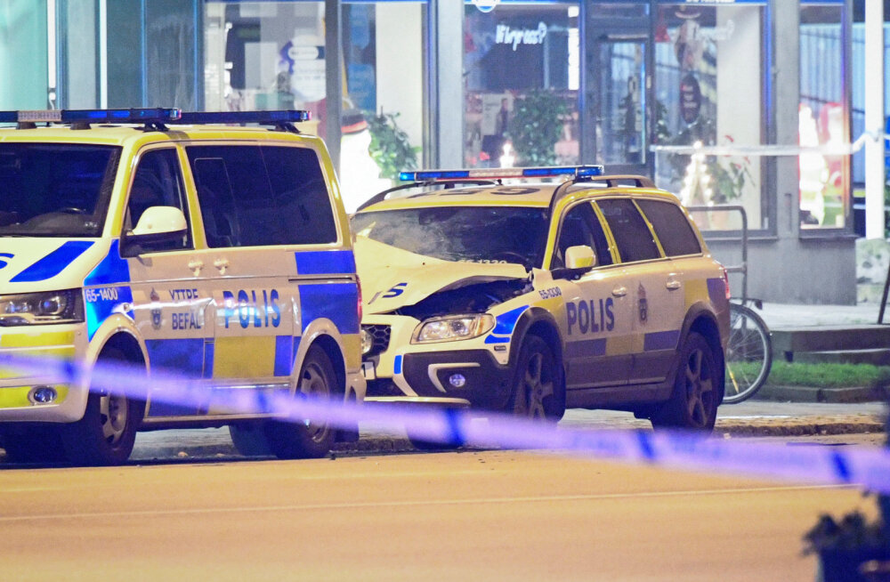Rootsis Norrköpingis suri öösel tulistamise tagajärjel kaks meest