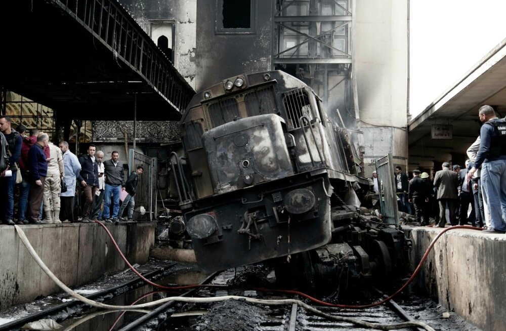 VIDEO | Kairo peamises raudteejaamas hukkus põlengus vähemalt 25 inimest