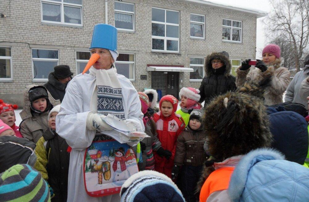 """В работающем по методике языкового погружения пярнуском детском саду """"Келлуке"""" учатся и эстонские дети"""