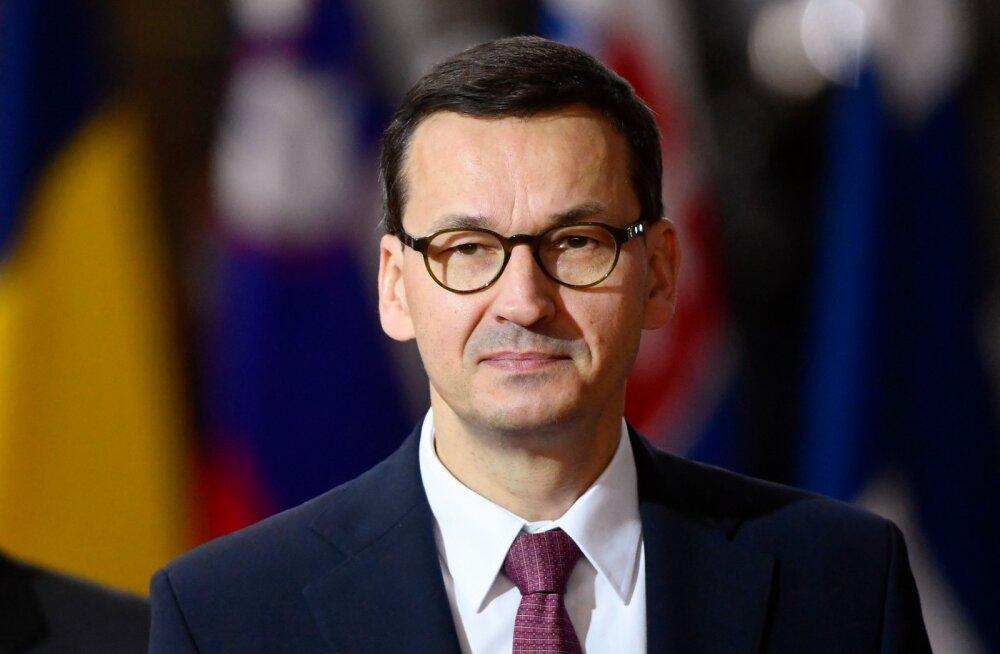 Poola peaminister Morawiecki: Macroni kriitika NATO aadressil on ohtlik