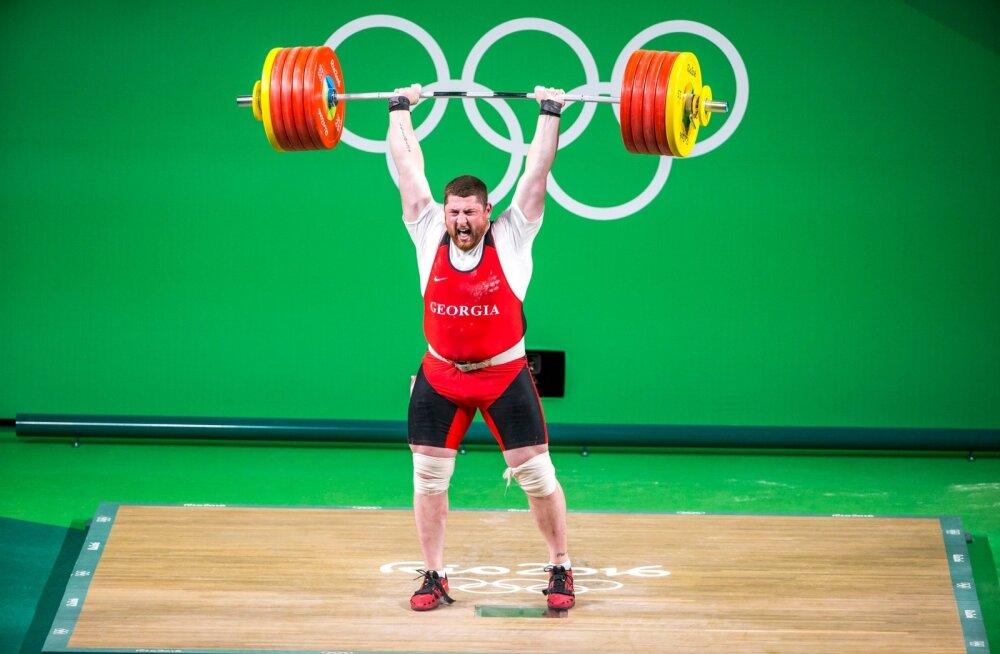 Rio de Janeiro olümpiakuld Lasha Talakhadze