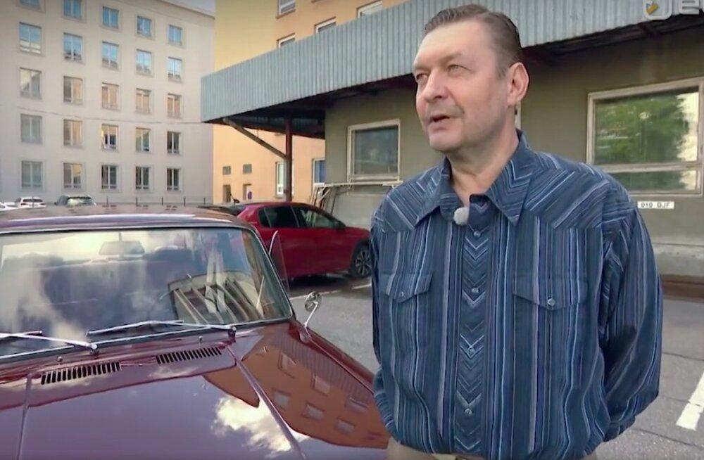VIDEO   Raivo E. Tamm tutvustas oma esimest autot, mille restaureerimiseks kulus mehel kolm aastat