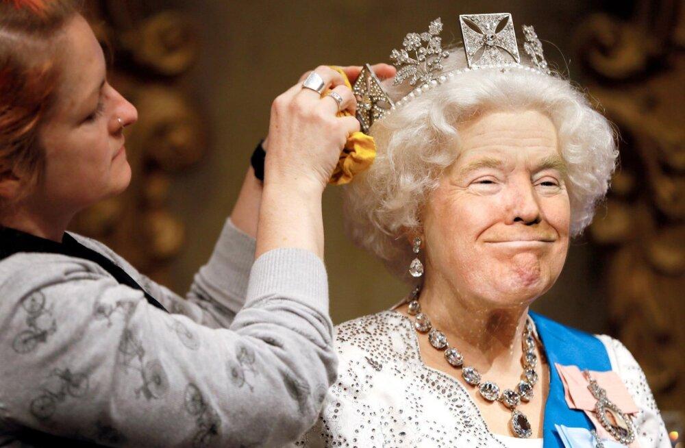 """FOTOD: Hirnu herneks! Interneti avarustes lööb laineid """"Kuninganna Trump"""""""