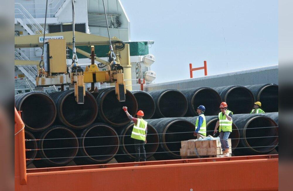 Maailma suurim torupaigalduslaev alustab Nord Streami jaoks torujuhtme rajamist Soome lahte