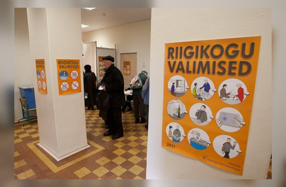 Valimispäev Jakob Westholmi gümnaasiumis