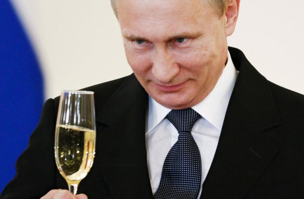 Putin kohtub homme 27 rahvusvahelise investeerimisfondi juhiga