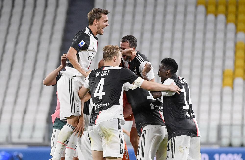 VIDEO | Juventus krooniti üheksandat aastat järjest Serie A meistriks