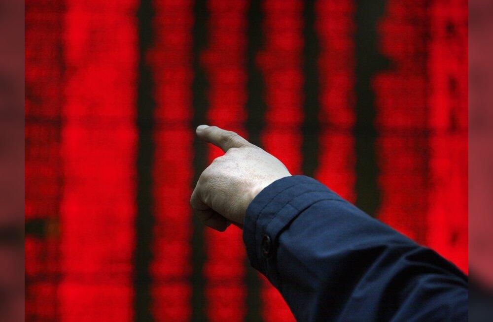 Tokyo börsilt viidi välja miljardeid dollareid