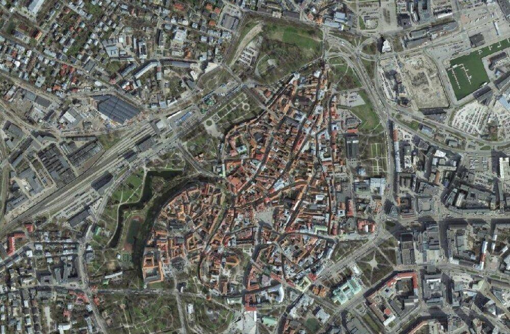 FORTE TEST | Eesti ülevalt: kui hästi tunned erinevaid paiku ja hooneid kõrgelt vaadatuna?