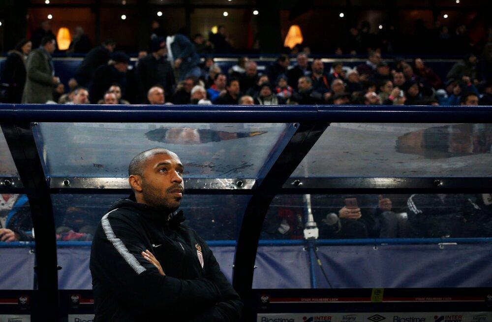 Thierry Henry sai peatreenerikarjääri esimese võidu