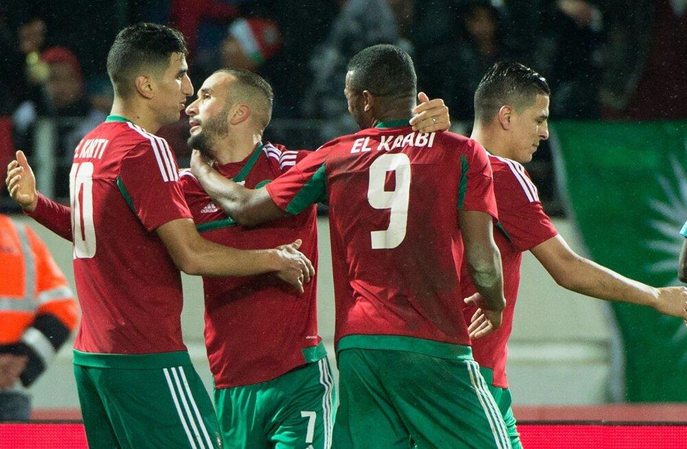 Maroko jalgpallurid