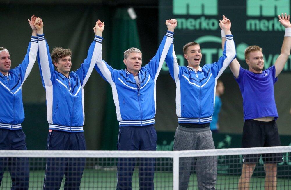 Davis Cup Eesti - Tuneesia