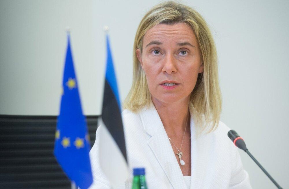 Euroopa Liidu välisasjade ja julgeolekupoliitika kõrge esindaja Federica Mogherini