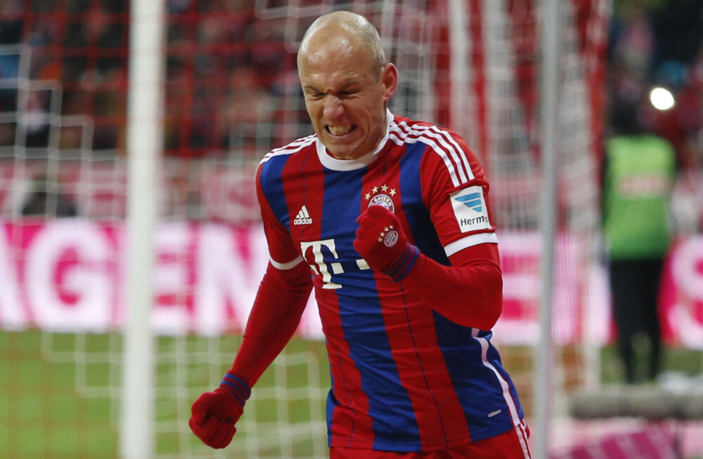 VIDEO: Bayern korraldas ka Kölnile väravasaju