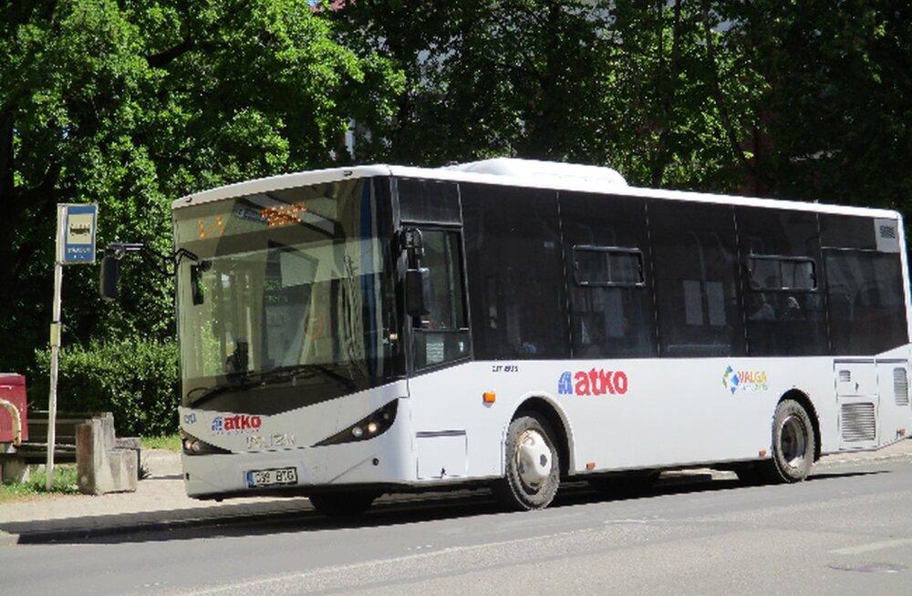 Valga linnaliinidel tuleb septembrist tasuta bussisõit