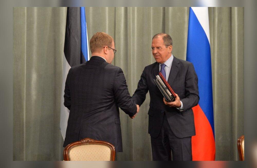 Eesti ja Venemaa vahelise piirileppe allkirjastamine Moskvas