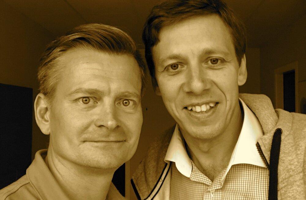 Veiko Valkiainen (vasakult) ja Enn Saar.