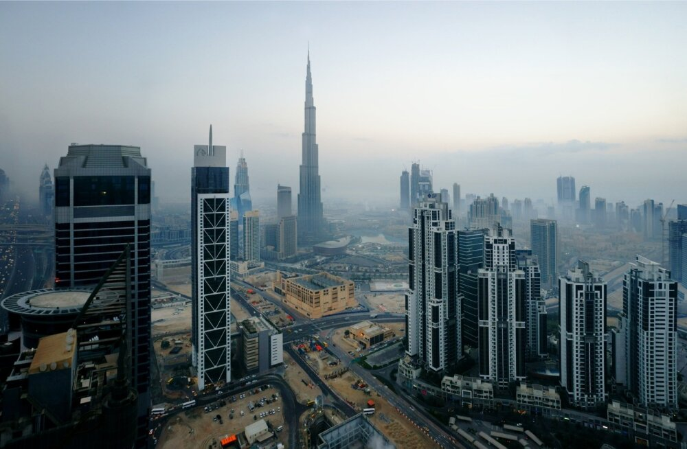 Dubai enne päikesetõusu