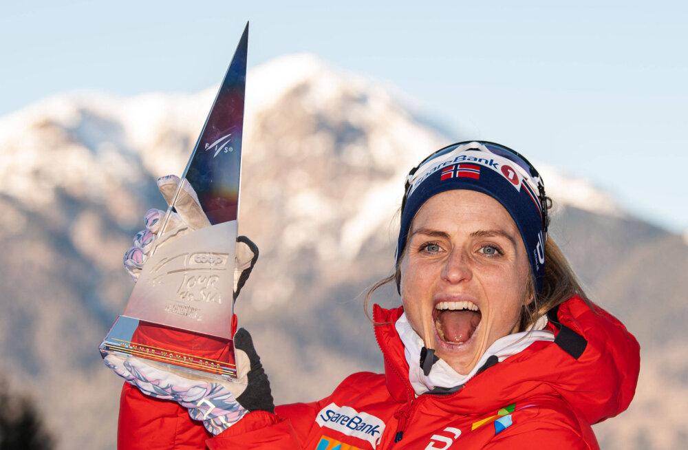 Tour de Skil kindla võidu võtnud Johaug: andsin kriitikutele vastulöögi