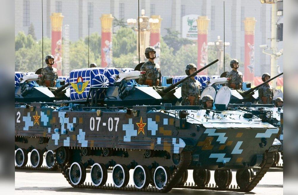Stockholmi instituut: Hiina sõltuvus Vene relvadest on vähenenud