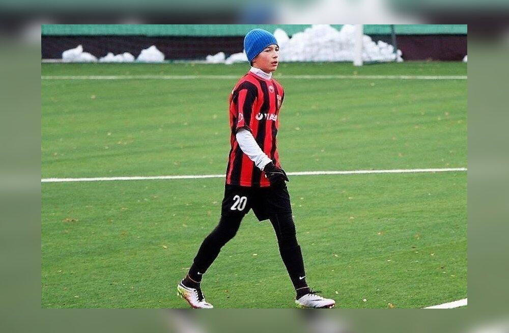 16-aastane eestlane osales Itaalia kõrgliigaklubi treeningul