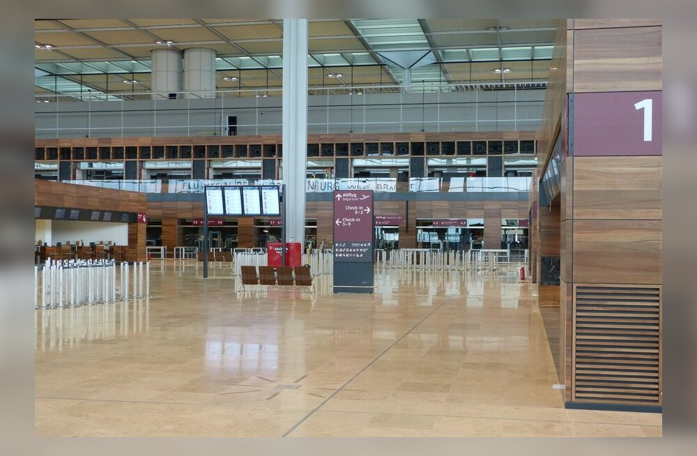 Berliini ikka veel tulevane uus lennujaam. Mis viltu läks?