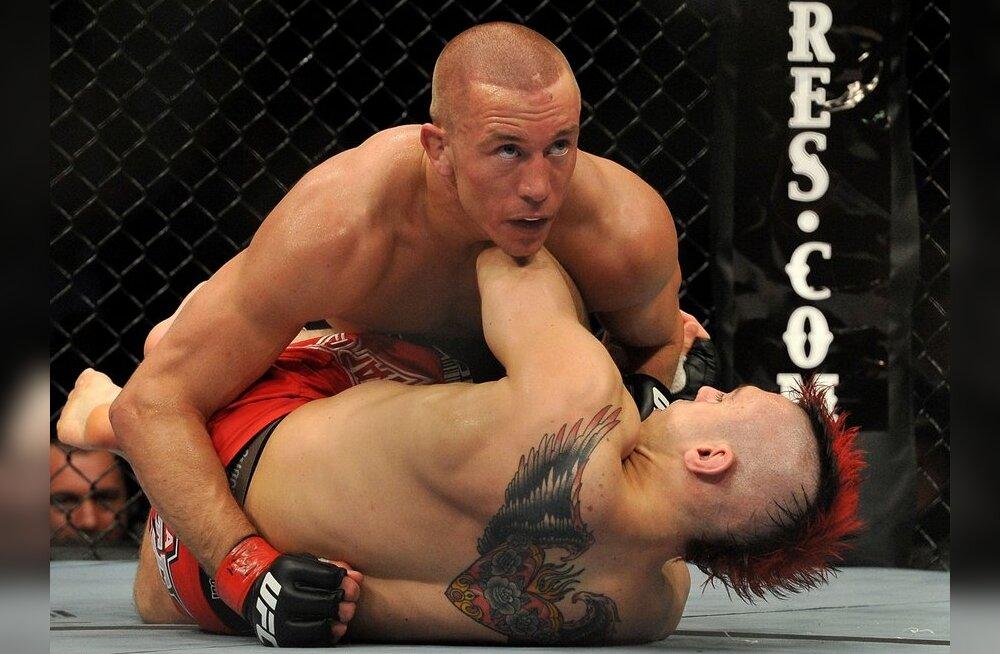 Georges St. Pierre kaitses UFC kergekeskkaalu tiitlit