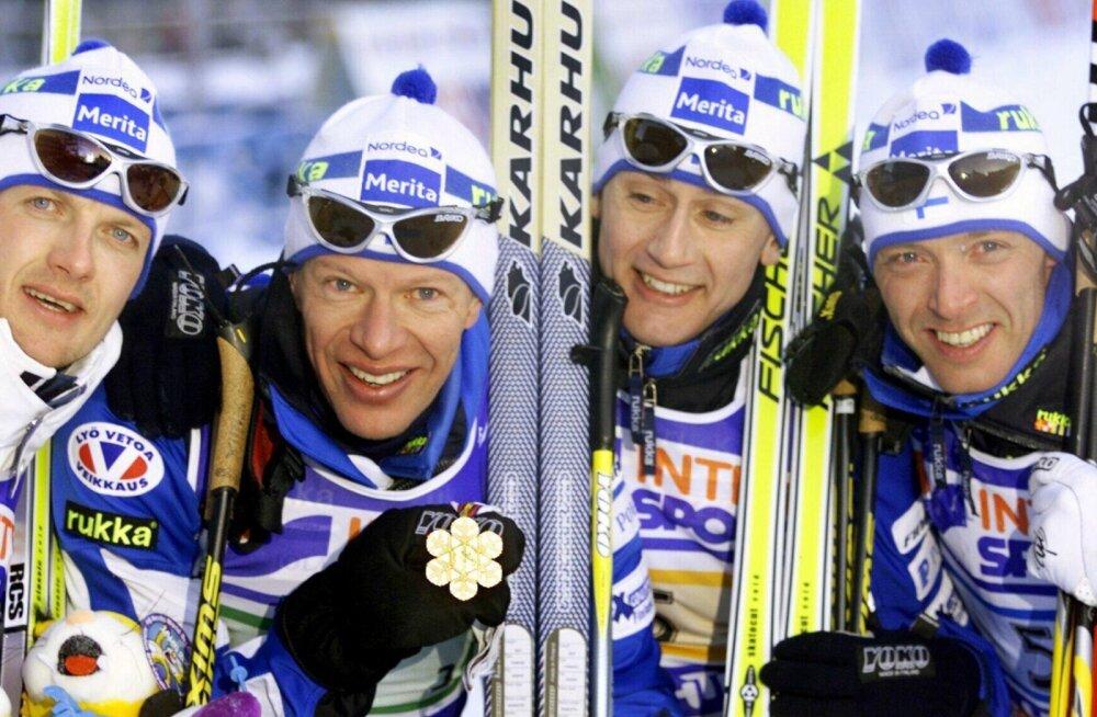 Soome skandaalne teatemeeskond Lahti MMil 2001