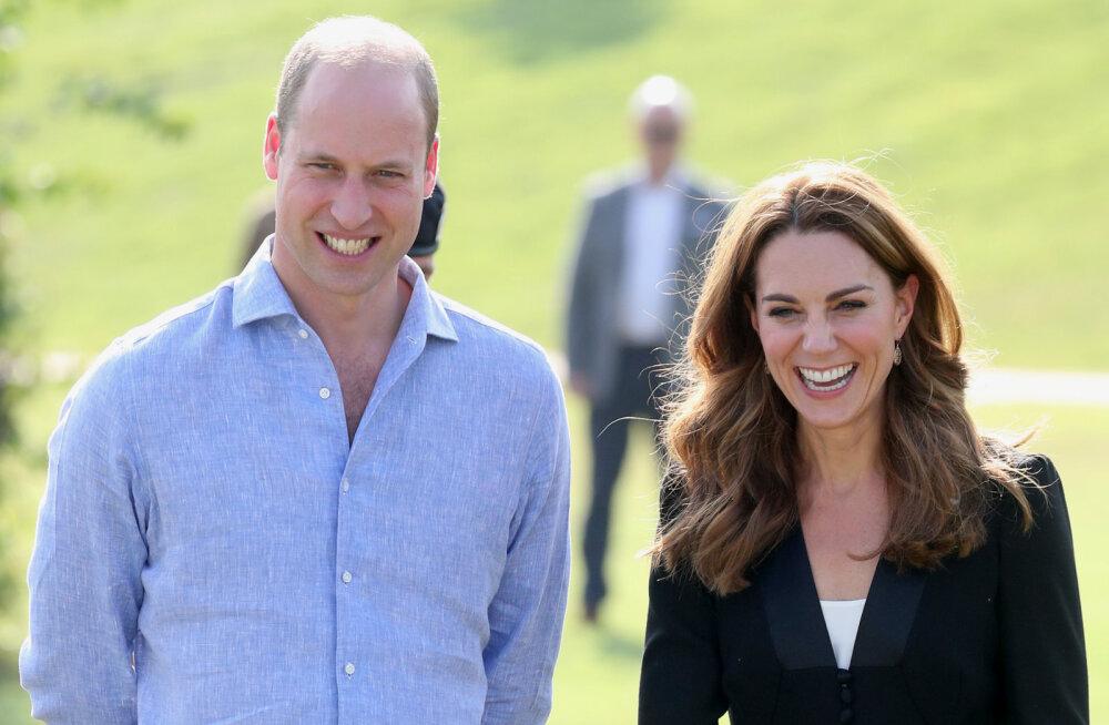 FOTOD | Williami ja Kate'i lapsed tulid üle mitme kuu avalikkuse ette: suureks kasvanud prints Louis on tõeline südametemurdja!