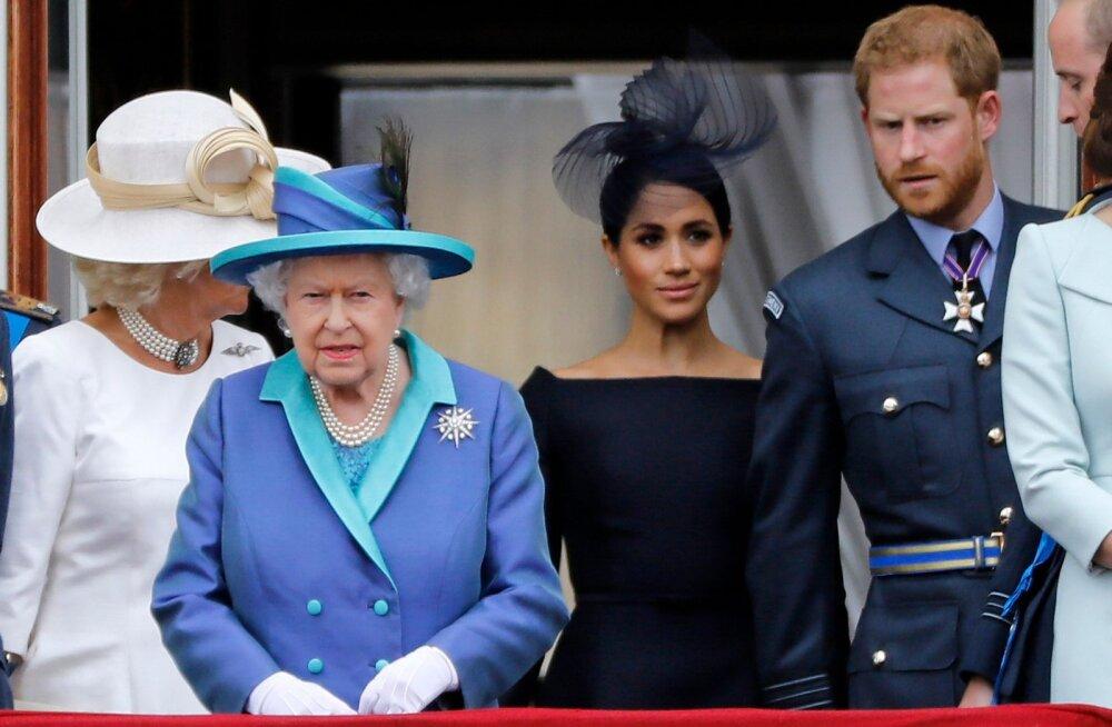 Uued detailid õukonnadraamas: kuninganna sai Harry ja Meghani otsusest teada vaid 10 minutit enne avalikustamist